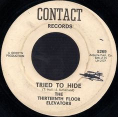 popsike.com - 13th FLOOR ELEVATORS You're Gonna Miss Me CONTACT FIRST PRESSING 45 THIRTEENTH - auction details