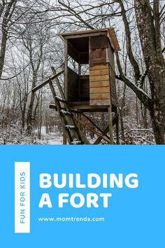 An easy indoor or outdoor kid friendly activities tips for building a fort. #funforkids #kidactivities Diy Projects For Kids, Diy For Kids, Cool Kids, Indoor Forts, Build A Fort, Every Mom Needs, Happy Mom, Recipe For Mom, Fun Activities For Kids