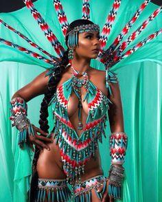 Carnival Outfit Carribean, Caribbean Carnival Costumes, Trinidad Carnival, Rio Carnival, Carnival Dancers, Carnival Girl, Carnival Fashion, Carnival Outfits, Beautiful African Women