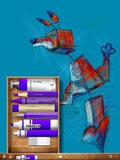 Ian Sands : Make Art!: My Three Favorite iPad Apps for Art Teachers