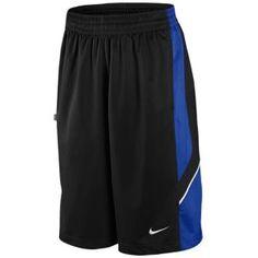 Nike Reign Maker Short - Men's - Basketball - Clothing - Black/Varsity Royal/White