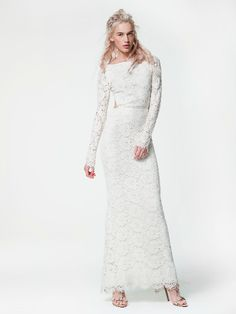 Chante gown Houghton bride