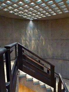 Yale Art Museum - Louis Kahn's Stairs