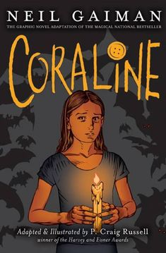 Coraline is my fav modern fairytale, I love the book, the film and the comic-book ^_^