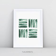 Minimalist art 155303887194747295 - Watercolor Painting Abstract Wall Art Print Green Wall Art Stripes Minimalist Art Printable Emerald Source by etsy Watercolor Paintings Abstract, Watercolor Walls, Abstract Wall Art, Green Watercolor, Tattoo Watercolor, Easy Watercolor, Art Paintings, Portrait Paintings, Watercolor Artists