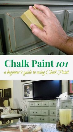Are you tyring chalk paint for the first time? Don't miss these Tips and Tutorials for Painting Furniture with Chalk Paint at Mrs. Hines' Class  #RemodelingDIY