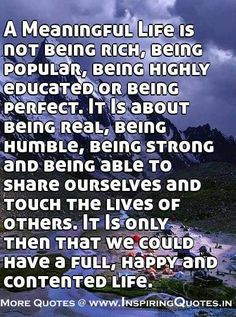 Meaningful Life Quotes