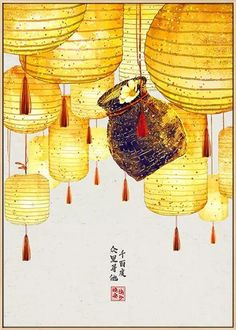 Take your interior space to new heights with this Japanese Boat Lantern Leaves Wall Art Canvas. This wonderful canvas painting can change your mood and make your life better. We print all of our images on high-quality cotton canvas that is resistant to tears and will not fade or run or bend like paper. Leaf Wall Art, Canvas Wall Art, Asian Wall Art, Us Images, Cotton Canvas, Lanterns, Oriental, Boat, Leaves