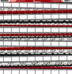 Reminisce - Hollywood Collection - 12 x 12 Double Sided Paper - Lights, Camera, Action at Scrapbook.com