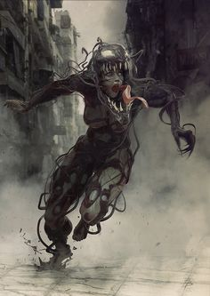She-Venom by Björn Barends