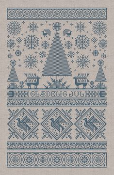 Scandinavian Christmas Sampler Instant Download PDF by modernfolk