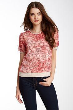 Kit Embroidered Swiss Dot Shirt by Weston Wear on @HauteLook
