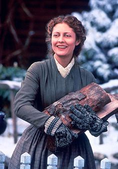 The Amazing Susan Sarandon, Mrs. March - Little Women directed by Gillian Armstrong (Costume Design by Colleen Atwood) Susan Sarandon, Little Women Quotes, Colleen Atwood, Louisa May Alcott, Woman Movie, Period Outfit, Thing 1, Film Serie, Best Mom