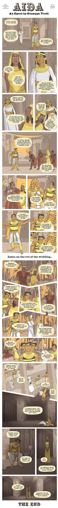 Opera Strip Aida>>I never actually knew how the opera went, only the musical. Last year, the high school put on the musical while a community opera house performed the opera haha