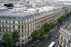 Le boulevard Haussmann.