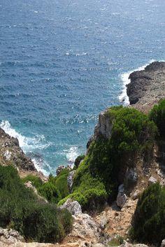Spiaggia Porto Selvaggio in Nardo, Italy.