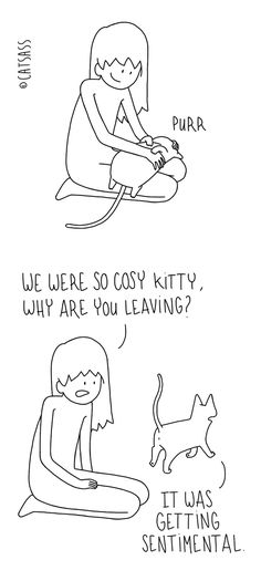 10+ Hilarious Comics That Reveal The Reality Of Living With Cats