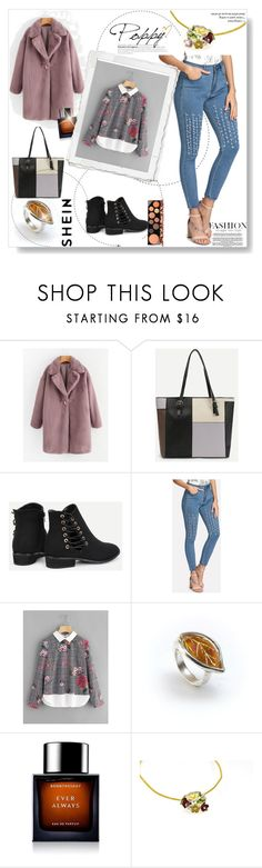 """""""Shein 2"""" by dedic-elvira ❤ liked on Polyvore featuring BoonTheShop and MAC Cosmetics"""