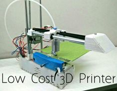 Edge Printer - an Affordable Open Source Printer! - arduino Picture of Edge Printer – an Affordable Open Source Printer! 3d Printer Designs, 3d Printer Projects, Arduino Projects, Electronics Projects, Diy 3d Printer, Diy Electronics, Diy Projects, 3d Printing Diy, 3d Printing Business