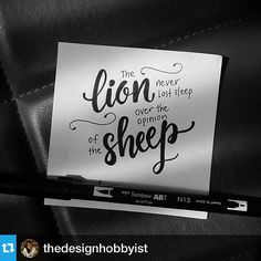 Handlettering by @thedesignhobbyist on Instagram, using #Tombow Dual Brush Pens
