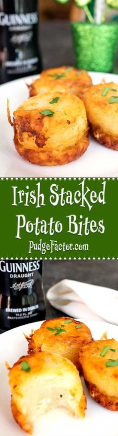 The Irish are famous for their potato dishes. These Irish Stacked Potato Bites are no exception. They're easy to make, and perfect for St. Patrick's Day. via @c2king