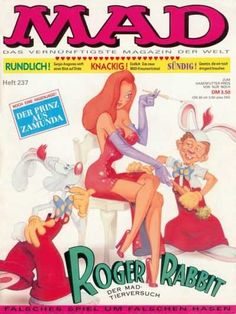 Mad #237 - Roger Rabbit