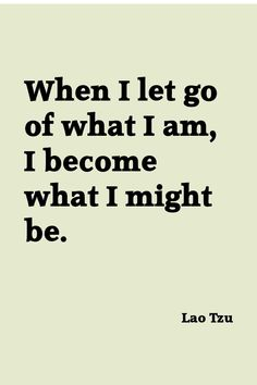 Lao Tzu, what are you meant to be?