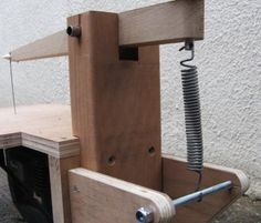 Home Made Scroll Saw