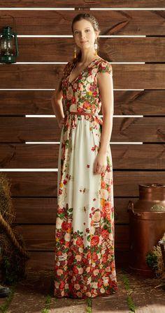 Só na Antix Store você encontra Vestido Longo Meu Jardim com exclusividade na internet