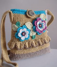 Handbag ... The smell of garden flowers DISCOUNT