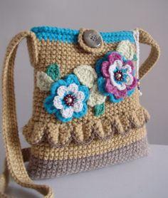 Handbag ... The smell of garden flowers DISCOUNT