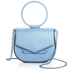 Nasty Gal Ring Leader Crossbody - 100% Exclusive ($83) ❤ liked on Polyvore featuring bags, handbags, shoulder bags, blue cross body purse, crossbody purse, blue crossbody, blue handbags and crossbody handbag