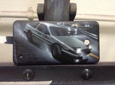 Размер: 12,5*6,5 Поверхность: крышка телефона Аэрограф: Iwata HP-C-Plus