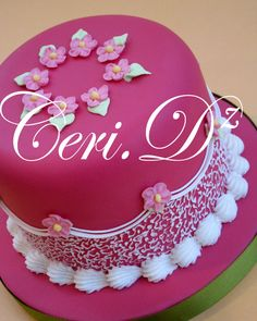 Royal Icing Cakes, Buttercream Cake, Fab Cakes, Cute Cakes, Royal Icing Templates, Sweet Bakery, Types Of Cakes, Fashion Cakes, Cake Gallery
