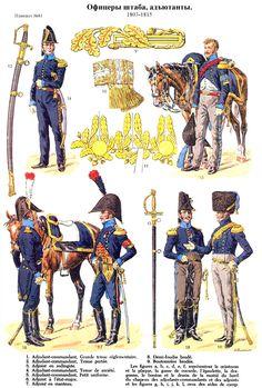 Etat-major et aides de camp 1803-1815 (pl 81) 2