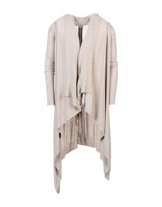 Rick Owens Men Cardigan on YOOX. The best online selection of Cardigans Rick Owens. YOOX exclusive items of Italian and international designers - Secure payments Rick Owens Men, Jumper, Duster Coat, Sweaters, Cardigans, Mens Fashion, Grey, Sweatshirts, Jackets