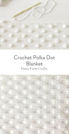 cute crochet This is a free pattern for a crochet polka dot blanket. The idea all started for this crochet polka dot blanket when I learned how to do the bobble stitch. Crochet For Beginners Blanket, Baby Blanket Crochet, Crochet Afghans, Crochet Blankets, Bobble Stitch Crochet Blanket, Chevron Baby Blankets, Beginner Crochet, Crochet Sweaters, Baby Afghans