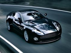 Aston Martin V12 Vanquish- Edward Cullen's car in Twilight