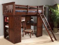 loft bed for toddlers? looks like it'd be great for a student