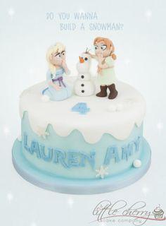 Frozen Cake - Cake by Little Cherry - CakesDecor