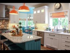Kitchen Remodel Check out the features in this colorful kitchen remodel