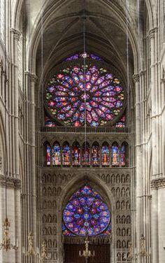 ✿ڿڰۣ(̆̃̃•Aussiegirl  Reims Cathedral, France