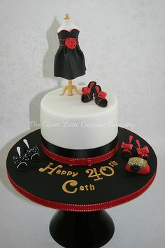 Mannequin Birthday Cake | Flickr – Compartilhamento de fotos!