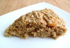 Les Crocs du Loupinet : Gâteau de flocons d'avoine à l'abricot
