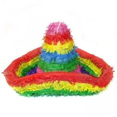 This Sombrero pinata is a must have for your next fiesta party.