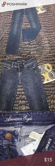 🔆Sale🔆American Eagle stretch jeans 👖 American eagle stretch jeans size 2-Short. Slim Boot. Perfect condition, like off the rack new! American Eagle Outfitters Jeans Boot Cut