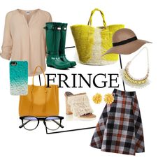 Rocking that Fringe! by esteebrooks on Polyvore featuring Vero Moda, TIBI, Hunter, Lanvin, Sensi Studio, Givenchy, Lipsy and River Island