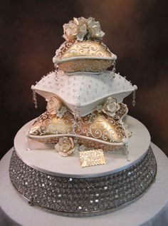 wedding cakes fondant Wedding Fondant Archives - Page 2 of 4 - Eddas Cake Designs Indian Wedding Cakes, Elegant Wedding Cakes, Elegant Cakes, Beautiful Wedding Cakes, Gorgeous Cakes, Wedding Cake Designs, Pretty Cakes, Cute Cakes, Amazing Cakes