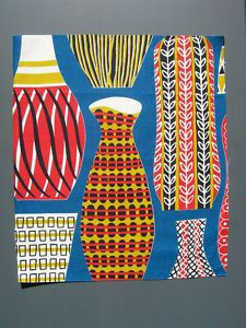 vintage 1950s fabric, reissued