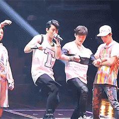 140810 JYP NATION 2014 ONE MIC